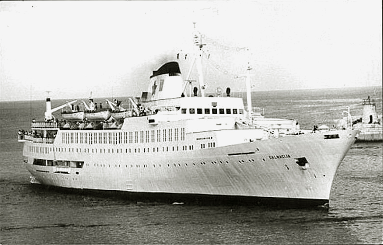 'Dalmacija' - Jadranska Linijska Plovidba - 1965 2a_dal10