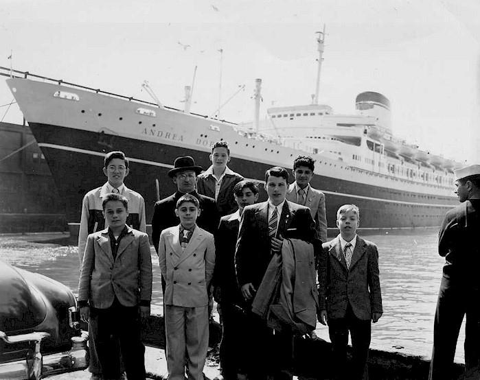 'Andrea Doria' - Italia - 1952 31_nav16