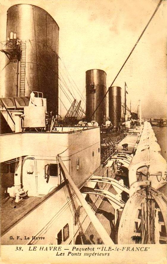 'Ile de France' - C.G.M. - 1926 32_29t10