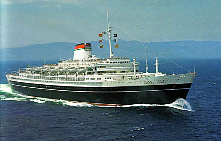 'Andrea Doria' - Italia - 1952 33_and11