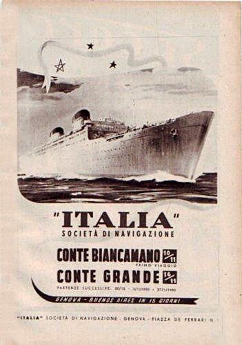 'Conte Biancamano' - Lloyd Sabaudo - 1925 35_pub10