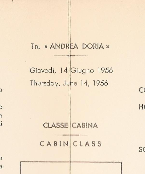 'Andrea Doria' - Italia - 1952 36_nav13