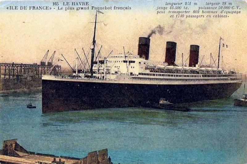 'Ile de France' - C.G.M. - 1926 38_35p10