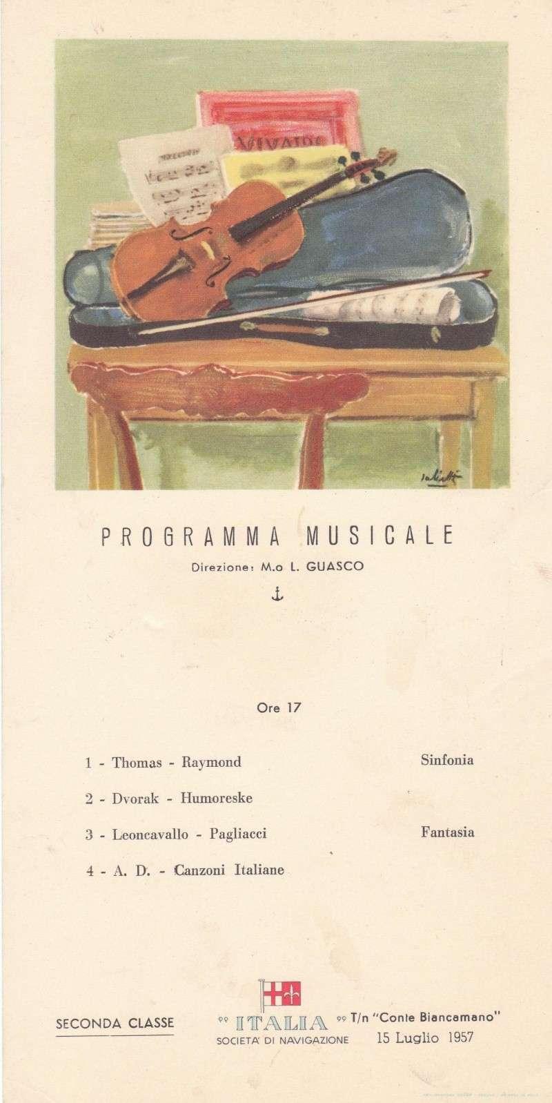 'Conte Biancamano' - Lloyd Sabaudo - 1925 39_nav12