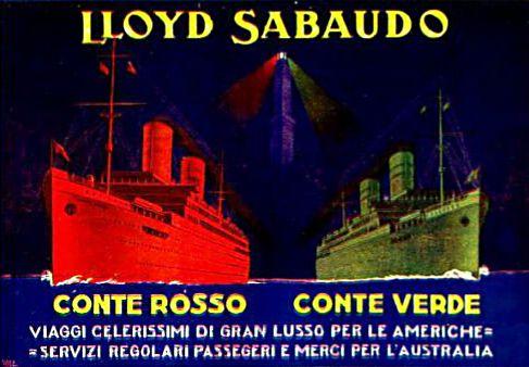'Conte Rosso' - Lloyd Sabaudo - 1923 3_cont10