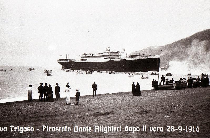 'Dante Alighieri' - Transatlantica Italiana - 1915 3_dant10