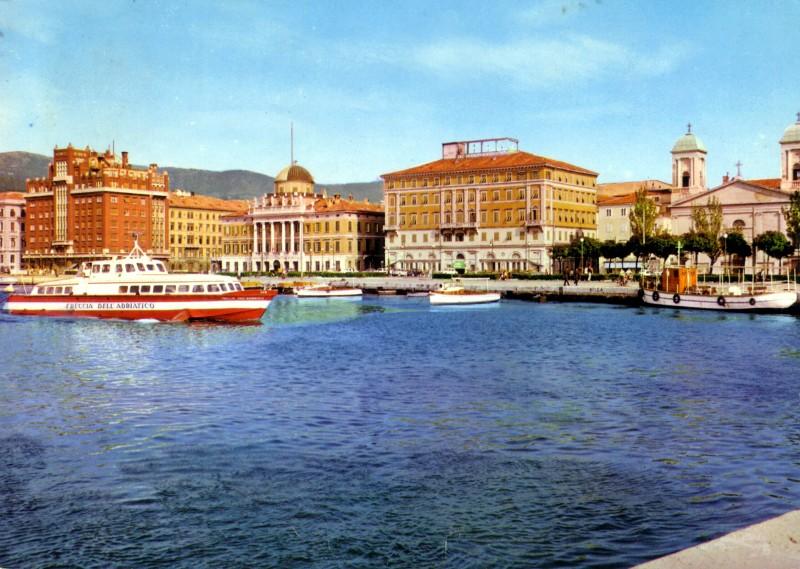 'Freccia dell'Adriatico - Soc. Aliscafi Trieste - 1959 3_frec10