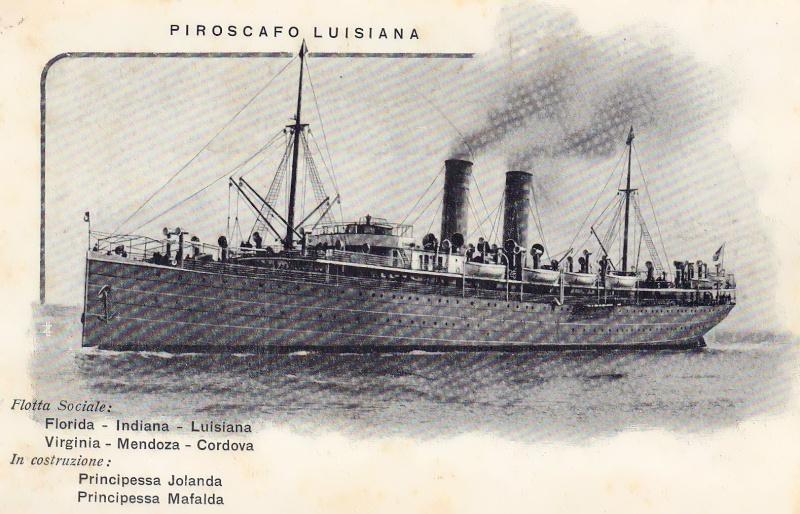 'Luisiana' - Lloyd Italiano - 1906 3_luis10