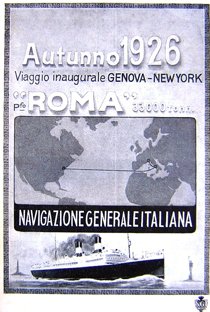 'Roma' - N.G.I. - 1926 3_nave13