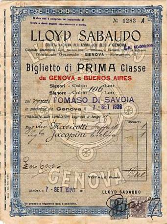 'Tomaso di Savoia' - Lloyd Sabaudo - 1907 3_nave25