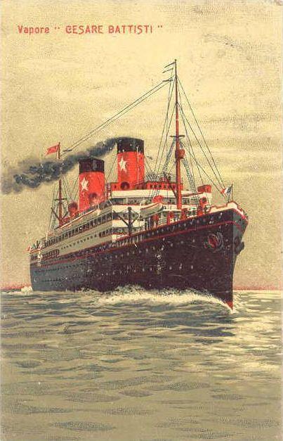 'Cesare Battisti' - Transatlantica Italiana - 1922 3_nave26