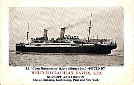 'Conte Biancamano' - Lloyd Sabaudo - 1925 3_nave32