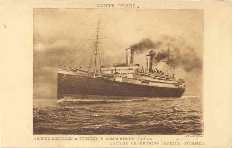 'Conte Verde' - Lloyd Sabaudo - 1923 3_nave33