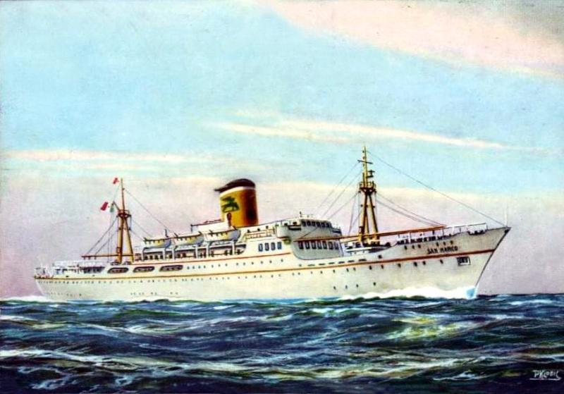 'San Marco' - Adriatica - 1956 3_nave38
