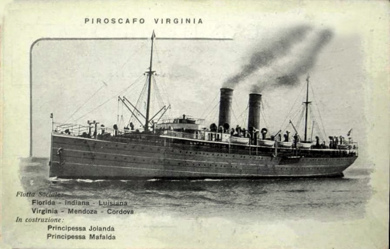 'Virginia' - Lloyd Italiano - 1906 3_nave48