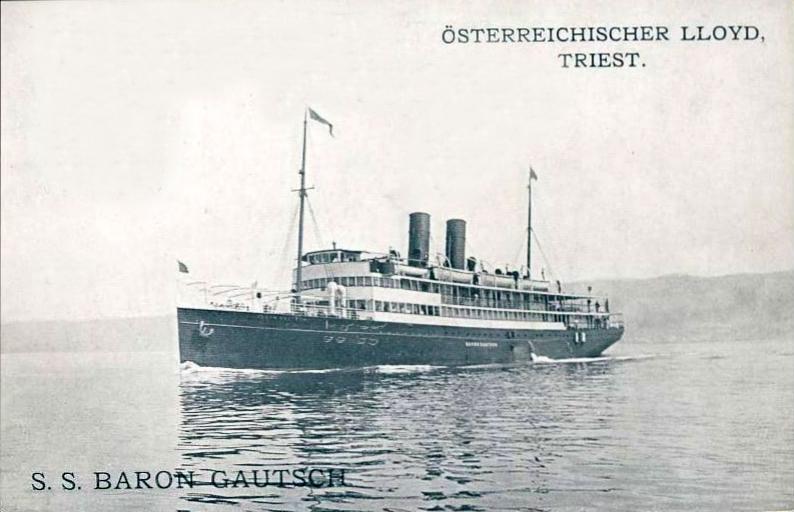 'Baron Gautsch' - Österreichischer Lloyd - 1908 3_nave63