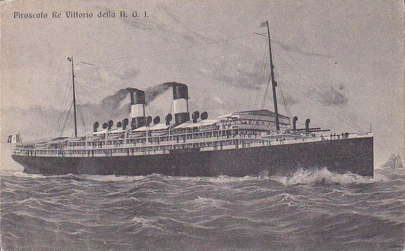 'Re Vittorio' - N.G.I. - 1907 3m789010
