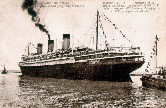 'Ile de France' - C.G.M. - 1926 41_38p10
