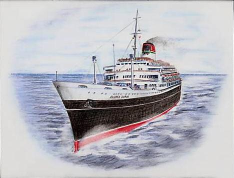 'Andrea Doria' - Italia - 1952 41_nav10