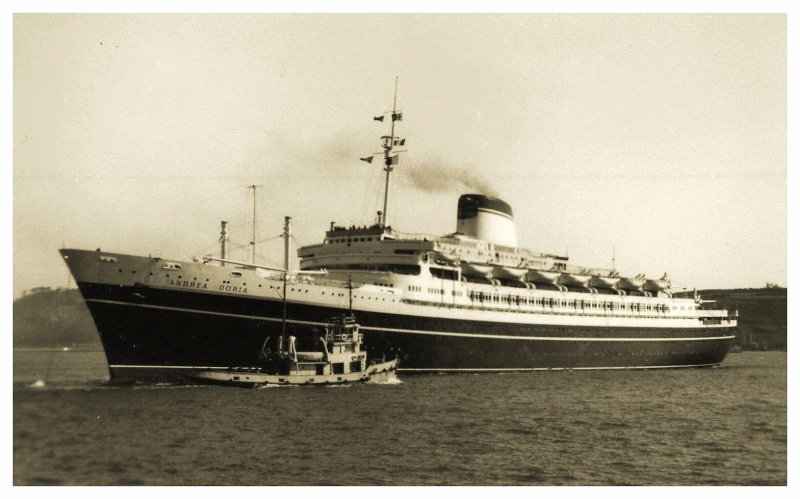 'Andrea Doria' - Italia - 1952 41c_do10