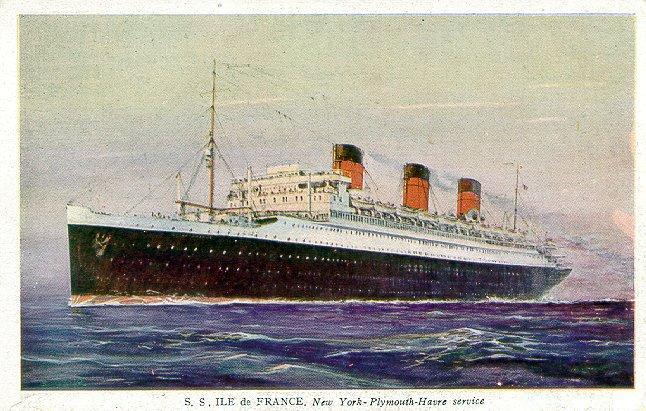 'Ile de France' - C.G.M. - 1926 43_40c10