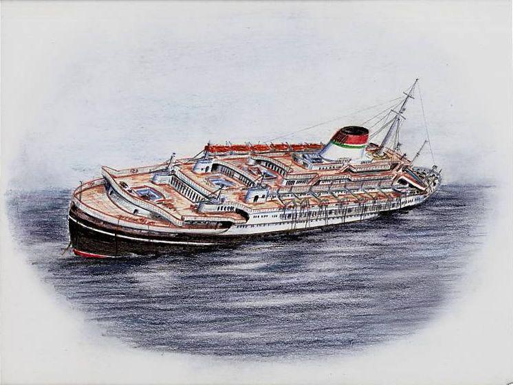 'Andrea Doria' - Italia - 1952 43_nav11