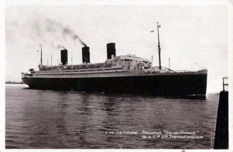 'Ile de France' - C.G.M. - 1926 45_41f10