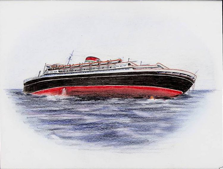 'Andrea Doria' - Italia - 1952 45_nav11