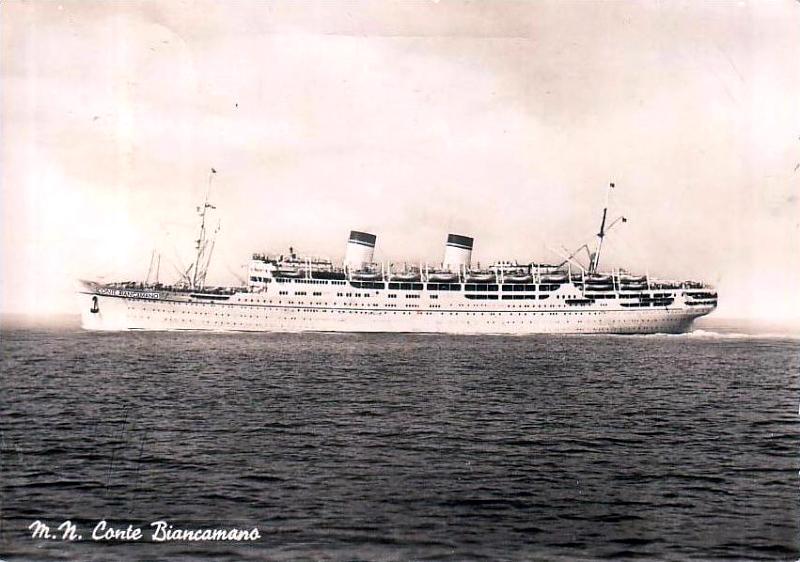 'Conte Biancamano' - Lloyd Sabaudo - 1925 46_sen10