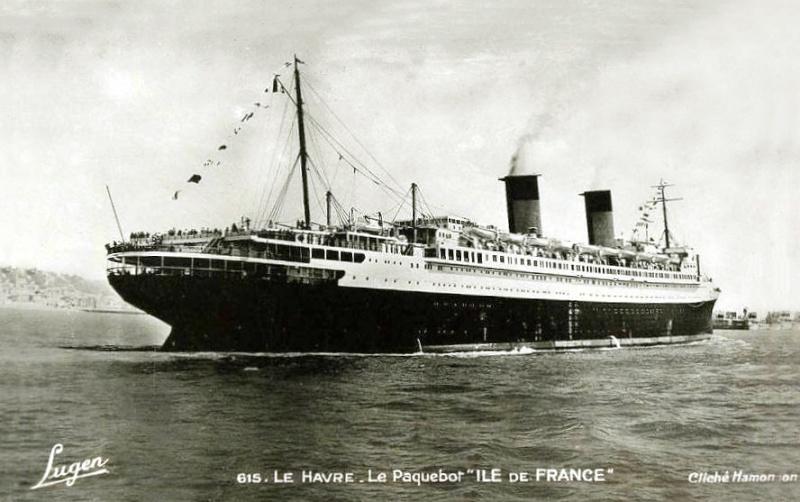 'Ile de France' - C.G.M. - 1926 49_3na10