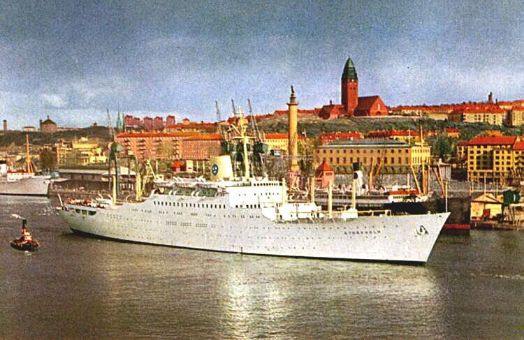 'Stockholm' - Svenska-America Linjen - 1948 4_2_st10