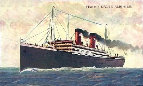 'Dante Alighieri' - Transatlantica Italiana - 1915 4_2dan10