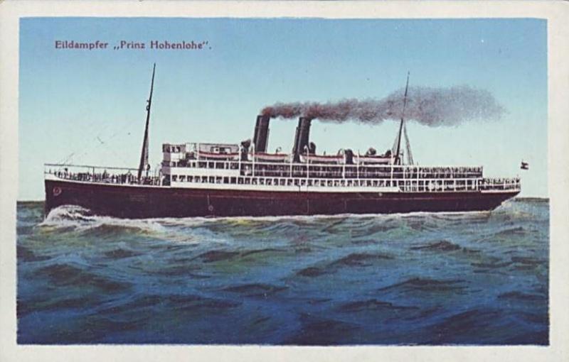 """""""Prinz Hohenlohe"""" - Österreichischer Lloyd - 1908 4_nave17"""