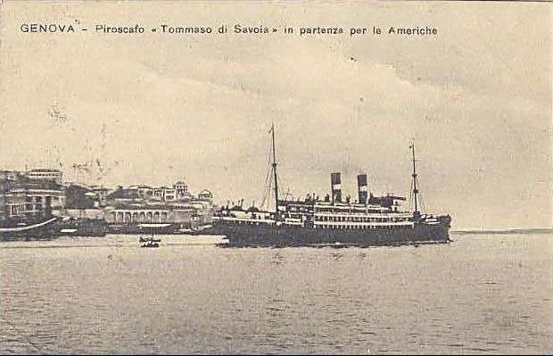 'Tomaso di Savoia' - Lloyd Sabaudo - 1907 4_nave20