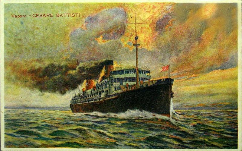 'Cesare Battisti' - Transatlantica Italiana - 1922 4_nave21