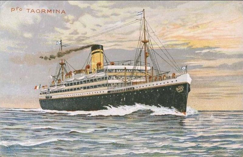 'Taormina' - Italia Soc. Nav. a Vapore - 1908 4_nave22