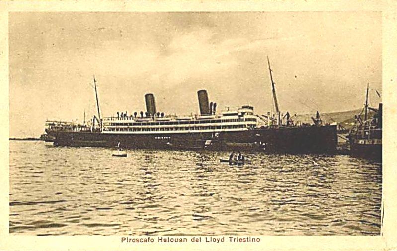 'Helouan' - Österreichischer Lloyd - 1912 4_nave25
