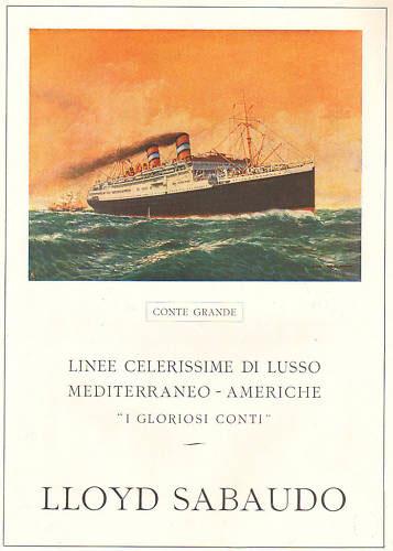 'Conte Grande' - Lloyd Sabaudo - 1928 4_nave29