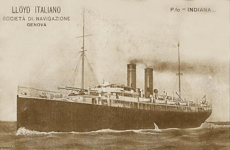 'Indiana' - Lloyd Italiano - 1905 4_nave33