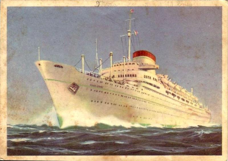 'Giulio Cesare' - Italia - 1951 4_nave36