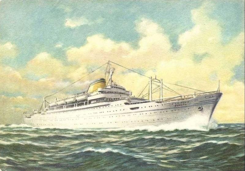 'Europa' - Lloyd Triestino - 1952 4_nave46