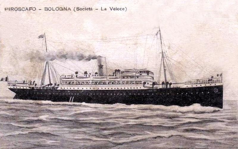 'Bologna' - Italia Nav. Vap. - 1905 4b_bol10
