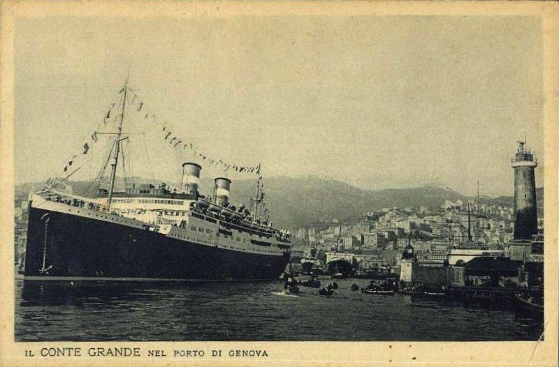 'Conte Grande' - Lloyd Sabaudo - 1928 4b_gra10