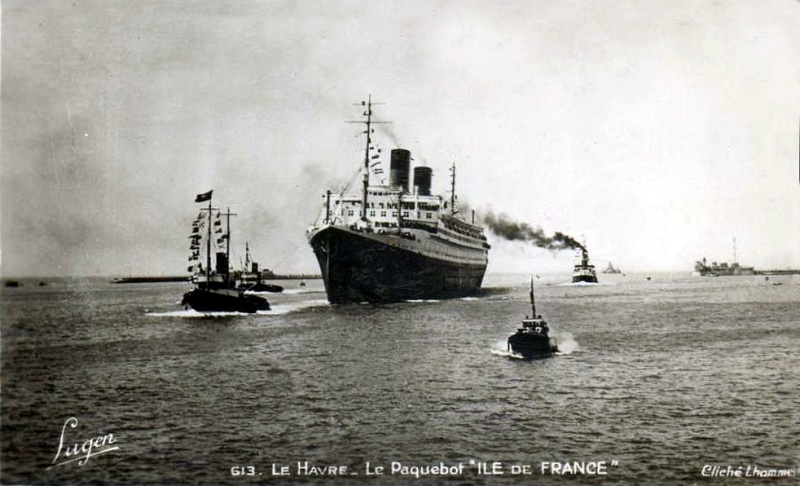 'Ile de France' - C.G.M. - 1926 54_8na10