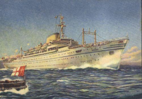 'Victoria' - Lloyd Triestino - 1952 5_3ts_10