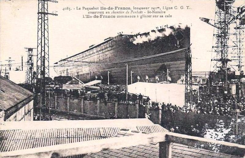 'Ile de France' - C.G.M. - 1926 5_3var10