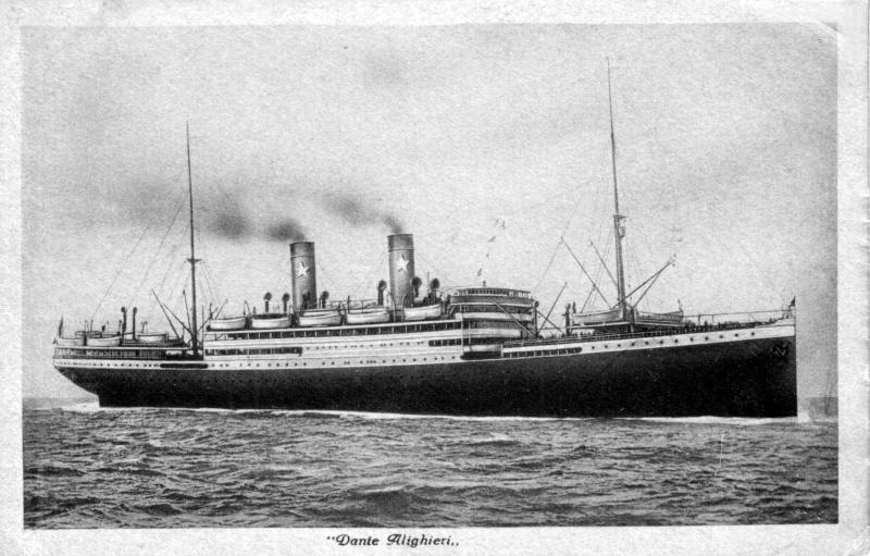 'Dante Alighieri' - Transatlantica Italiana - 1915 5_dant10