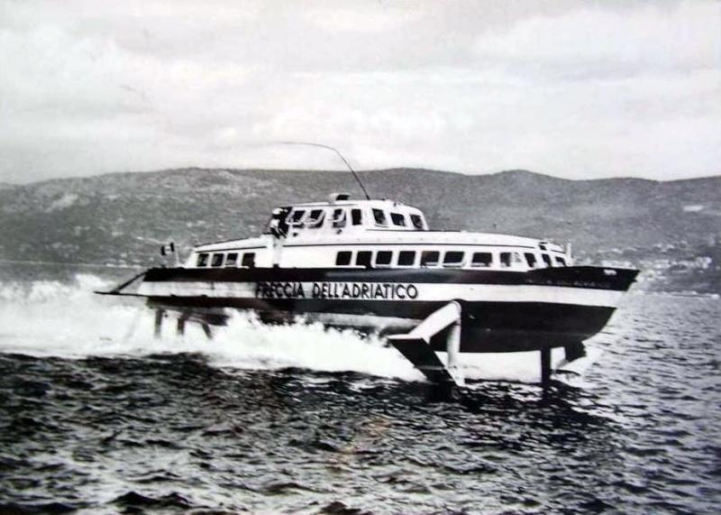 'Freccia dell'Adriatico - Soc. Aliscafi Trieste - 1959 5_frec10