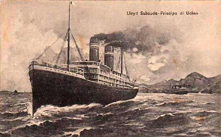 'Principe di Udine' - Lloyd Sabaudo - 1907 5_nave10