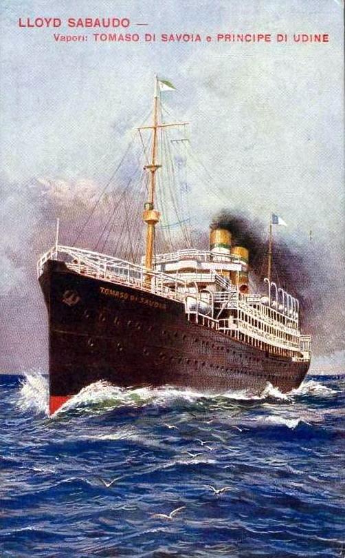 'Tomaso di Savoia' - Lloyd Sabaudo - 1907 5_nave22